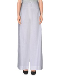 Vivienne Westwood Anglomania Trousers Casual Trousers Women White