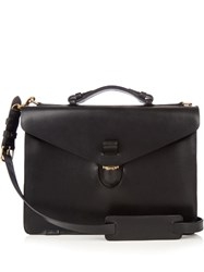 Tarnsjo Garveri Leather Briefcase Black