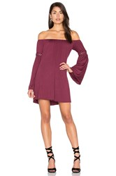 Sky Iestyn Dress Wine
