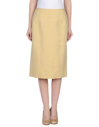 Antonio Fusco 3 4 Length Skirts Beige