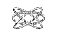 Michael Kors Brilliance Ring Silver Clear 1 Ring