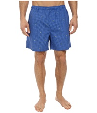 Columbia Backcast Ii Printed Trunk Vivid Blue Tossed Gamefish Men's Shorts