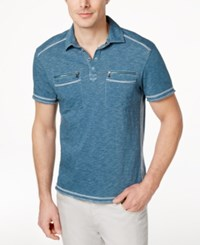 Inc International Concepts Men's Armory Polo Shirt Only At Macy's Mallard