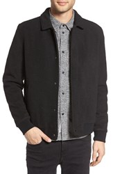 Native Youth Men's Hekla Wool Blend Bomber Jacket