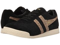 Gola Harrier Safari Black Gold Women's Shoes