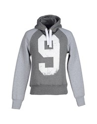 Williams Wilson Topwear Sweatshirts Men Grey