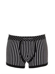 Dolce And Gabbana Pinstriped Stretch Jersey Boxer Brief