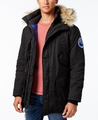 Superdry Men's Everest Twin Peaks Jacket Black