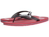 Quiksilver Molokai Black Red Red Men's Sandals
