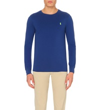 Ralph Lauren Custom Fit Cotton Jersey T Shirt Dp Ocean