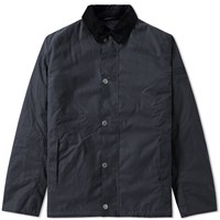 Barbour Steve Mcqueen Sandford Wax Jacket Blue