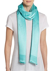 Bajra Satin Weave Scarf Sea Glass