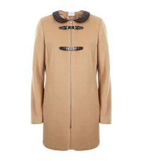 Claudie Pierlot Gardenia Buckle Coat Female Camel