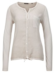 Marc O'polo Jersey Blouse Null Beige