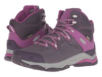 Keen Aphlex Mid Waterproof Plum Shark Women's Waterproof Boots Brown