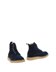 Mark Mcnairy Ankle Boots Dark Blue