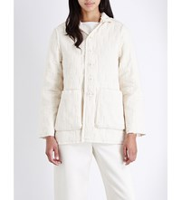 Toogood The Photographer Cotton Quilted Jacket Raw