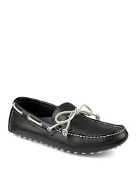 Sperry Hamilton Leather Driver Moccasins Blue