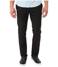 Original Penguin P55 Slim Stretch Chino Slim Fit True Black Men's Casual Pants