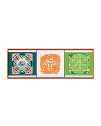 Hermes Limited Edition Gift Set Comprised Of 3 Cologne Soaps Hermes