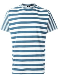 Paul Smith Ps By Stripe T Shirt Blue