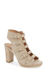 Women's Kenneth Cole New York 'Kennedy' Buckle Strap Block Heel Sandal 4' Heel