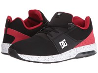 Dc Heathrow Ia Black Red Men's Skate Shoes