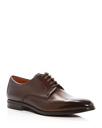 Bally Latour Lace Up Derby Shoes Brown