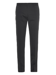 Dolce And Gabbana Pinstripe Wool Blend Trousers