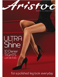 Aristoc 10 Denier Ultra Shine Tights Black