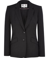 Austin Reed Charcoal Stretch Classic Jacket