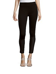 Kensie Slim Fit Cropped Leggings Black