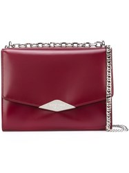 Rochas Envelope Shoulder Bag Red