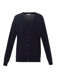 Christopher Kane Love Hearts Wool And Cashmere Blend Cardigan