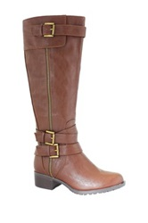 Intaglia Texas Extra Wide Calf Boot Brown