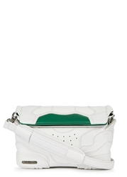 Alexander Wang Off White Pebbled Leather Cross Body Bag