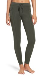 Free People Women's 'Futura' Leggings Green