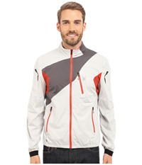 Spyder Aramis Windbreaker Shell Jacket Cirrus Polar Volcano Men's Coat White
