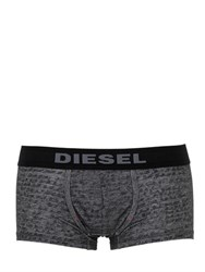 Diesel Writing Stretch Cotton Boxer Briefs