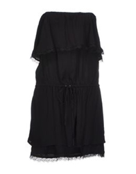 Bel Air Short Dresses Black