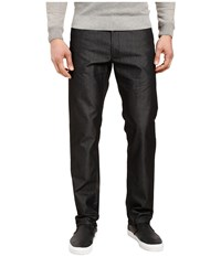 Calvin Klein Five Pocket Y D Dobby Texture Pants Black Men's Casual Pants