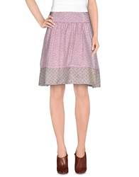 Noa Noa Skirts Knee Length Skirts Women Pink