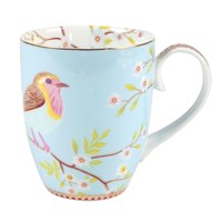 Pip Studio Large Early Bird Mug Blue