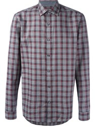 Michael Michael Kors Checked Shirt Grey