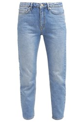 Wood Wood Eve Relaxed Fit Jeans Classic Blue Vintage Blue Denim