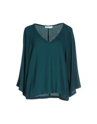 Suoli Shirts Blouses Women Emerald Green