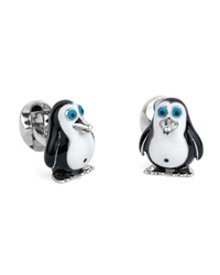Deakin And Francis Fatty Penguin Cuff Links