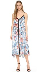 Elizabeth And James Long Linda Dress Multi Black