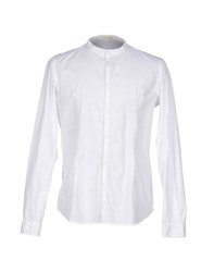 Officina 36 Shirts Shirts Men White
