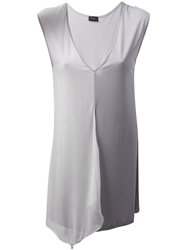 Joseph Two Tone Tunic Grey